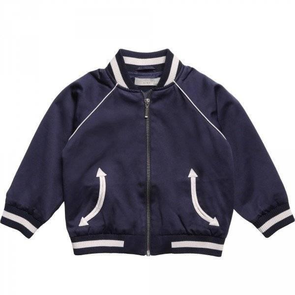 Stella McCartney Kids Navy Blue 'Eastwood' Jacket