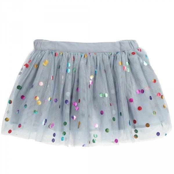 Stella McCartney Kids Blue Tulle 'Honey' Party Skirt
